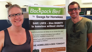 swags for the homeless